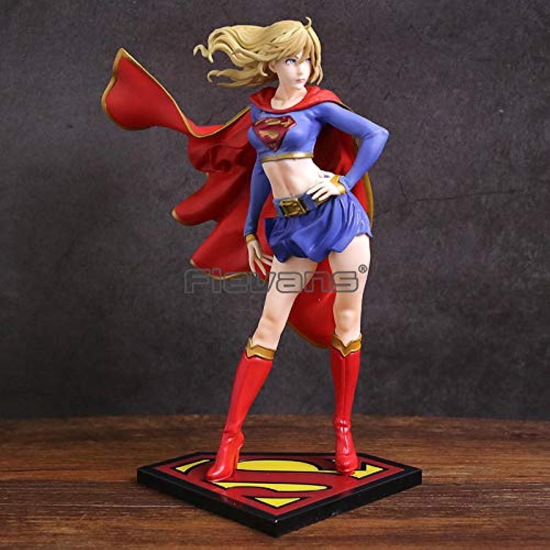 envío rápido en todo el mundo Yvonnezhang DC Comics Bishoujo Bishoujo Bishoujo Statue súpergirl Devuelve PVC Figura de colección Modelo de Juguete  ventas en linea