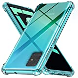 Ferilinso Cover for Samsung Galaxy A51 Case,[Strengthen