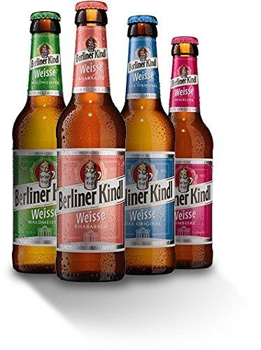 8 Flaschen Berliner Kindl Mix a 0,33l Mischgetränk 3.0% Vol. inc. 0.64€ MEHRWEG Pfand