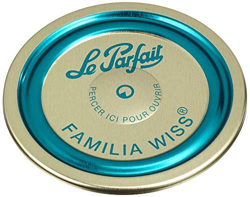 Le Parfait - Boite de 12 capsules Familia Wiss - 82mm - Bleu
