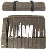 Immagine 1 qees borsa porta coltelli con