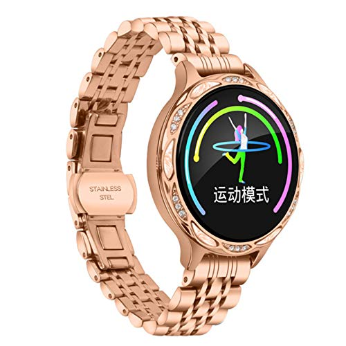 LXZ M9 Sport Smartwatch Color Screen Pantalla IP68 Impermeable Femenino Femenino Femenino Y Monitor De Presión Arterial RECORDATORIO DE Ciclo Menstruales para Android iOS,C