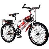 Dalovy Kinderfahrrad, Fahrräder Boy Speed Mountainbike Student Pedal Fahrrad Kinder Roller 8-10-14 Jahre altes Fahrrad (Farbe: Blau)