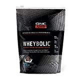 GNC AMP Wheybolic Whey Protein Powder - Cookies and Cream, 10 Servings, Contains 40 Protein, 15g BCAA, and 10g Leucine Per Serving
