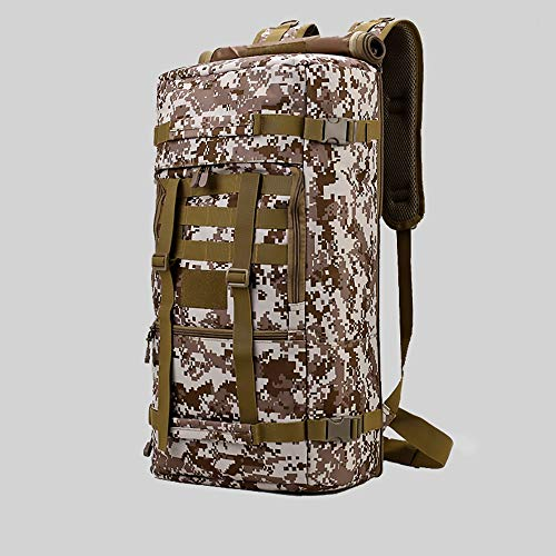 Faus Koco Polyester 50 Liters Tactical Multi-purpose Backpack Large-capacity Luggage Bag Outdoor Backpack Male Messenger Bag Camouflage