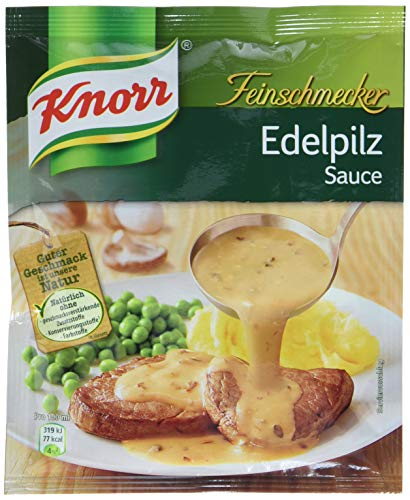 Knorr Feinschmecker Edelpilz Soße, 23er-Pack (23 x 250 ml)