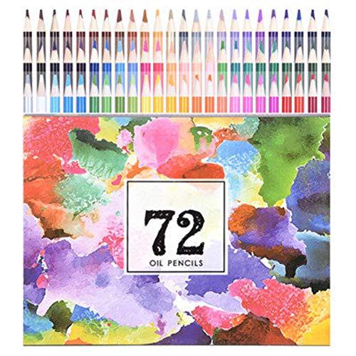 Lápices de Colores, Núcleos Suaves a Base de Cera, Ideales para Dibujar,...