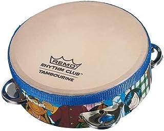 "Remo RH-1206-00 Rhythm Club Konga Drum Tambourine 6"" Tambourine Rhythm Club Rhythm Kids"