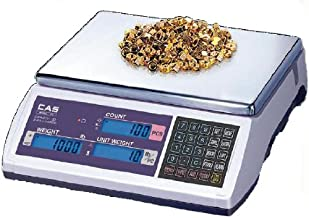 CAS EC-6 EC Series High Accuracy Counting Scale, 6lb Capacity, 0.0002lb Readability