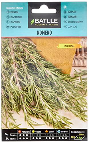 Semillas Aromáticas - Romero - Batlle