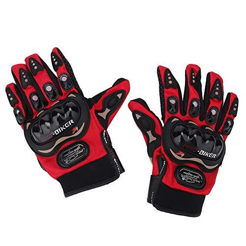 Guantes de motocicleta de dedo completo para hombre, pantalla táctil, guantes anticaída, guantes de carreras, equipo al aire libre, para ciclismo, senderismo, camping, tácticas de entrenamiento