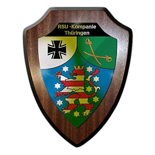Armoiries Panneau RSU orientales Thuringe régionale de sauvegarde et soutien orientales Bundeswehr reservist # 23579