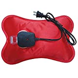 Portable Electric Hot Water Bottle - Rechargeable Heat Lasts 2 - 6 Hours by CCV Inc.