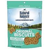 Natural Balance L.I.D. Limited Ingredient Diets Dog Treats, Sweet Potato & Chicken Formula, 14 Ounce Bag, Grain Free