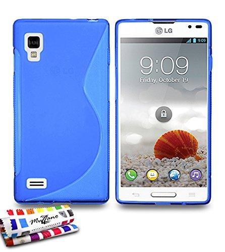 Muzzano F6094 - Funda para LG Optimus L9, color azul