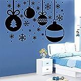 Crjzty DIY decoración del hogar Pegatinas de Pared para Sala de Estar Dormitorio decoración Accesorios murales 58x41cm
