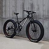 Cacoffay VTT, Vélo, 26 Pouces 7/21/24/27 Speed Bike, Hommes Femmes Étudiant À Vitesse...