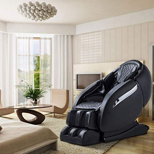 Luxurious Electric Full Body SL-Track Zero Gravity Shiatsu Massaging Chair Recliner with Heating Back, Foot Roller and Air Massage System for Home