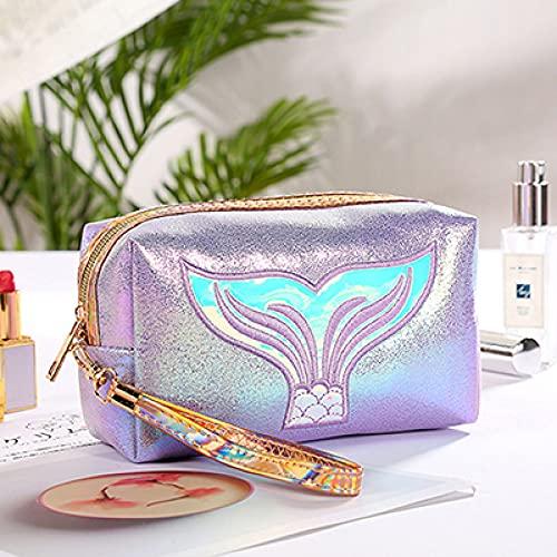LSZA Bolso de Cosméticos,Functional Cosmetic Bag Women Fashion Travel Make Up Necessaries Organizer Zipper Makeup Case Pouch Toiletry Kit Bag,Purple