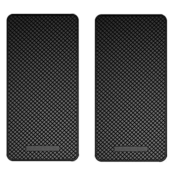 Ganvol 2 Pack Premium Anti-Slip Car Dash Sticky Pads 5.3 x 2.7 in Cell Phone Dashboard Holder Radar Detector Non-Slip Mat Heat Resistant Don t Stink Leave no Residue