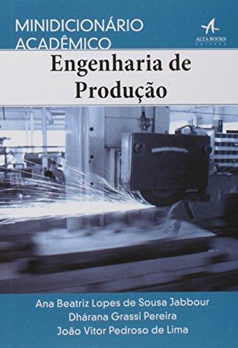 Minidicionário acadêmico engenharia de produção