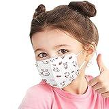 Bufanda Protectora con Estampado de Dibujos Animados para bebés y niños de 10 Piezas - Bufanda elástica Suave Universal Industrial Linda de Moda de 4 Capas -21229-38