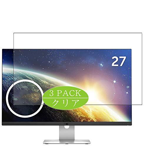 "VacFun 3 Piezas Claro Protector de Pantalla, compatible con Dell Monitor S2715H 27"", Screen Protector Película Protectora(Not Cristal Templado) NEW Version"