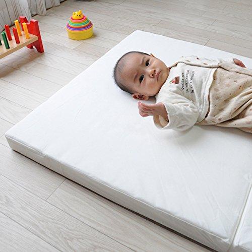 日本製へたりにくい体圧分散ベビー敷きふとん70×120cm