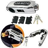 FD-MOTO Bloqueo de Seguridad de Motocicleta del Manillar Bloqueo de Palanca de Freno de Aleaciã³n de Aluminio Astilla