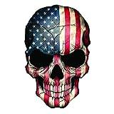 EZ CUT PRO Reflective Punisher Skull American Flag...