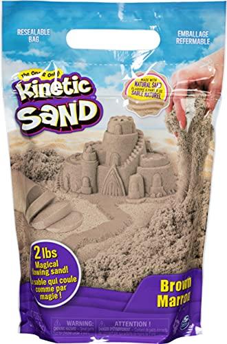 Kinetic Sand The Original Moldable Sensory Play Sand, Brown, 2 Lb $7.99