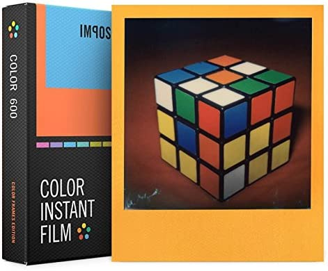 Impossible Color 4 years warranty Limited time sale Instant Film Frames 600 Polaroid Type for