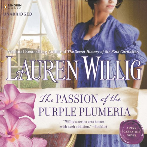 The Passion of the Purple Plumeria audiobook cover art