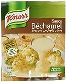 Knorr Sauce Déshydratée Béchamel avec une Touche de Crème 52 g - Lot de 7
