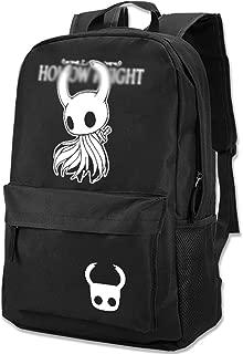 KCS Hollow Knight バックパック ホロウナイト リュックサック グッズ ビジネスバック 大容量 メンズ レディース 旅行バッグ 多機能 通勤 通学 人気 クリスマス ハロウィン 新年祭りブラック