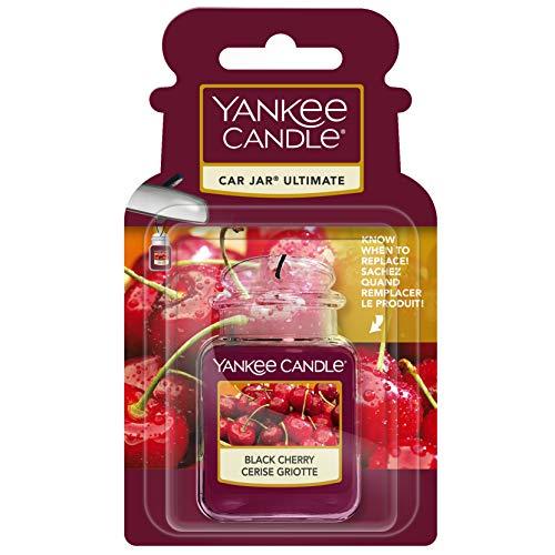 Yankee Candle 1221000E Deodoranti per Auto, Car Vaso Ultimate, Black Cherry