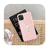 Coque-a10-for iPhone XS XR 8 7 6 6S Plus Motif lettre personnalisable