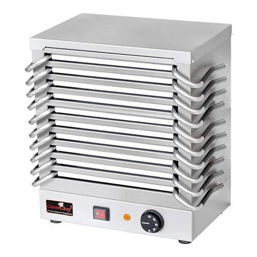 Rechaud mit 10 Warmhalteplatten aus Aluminium Batterie Wärmeplatte Speisenwärmer Warmhalteplatte