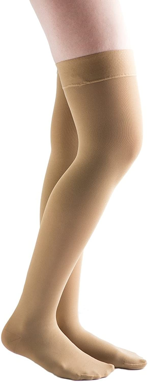 VenActive Women's Opaque 2030 mmHg Compression Stockings, Closed Toe, Thigh High