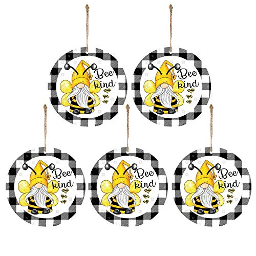 Ruidada 5PC Cute Bee Pendant Home Decoration Pendant Decoration For Home Hanging Pendant, Decoration & Hangs for Home & Garden, Easter St Patrick's Day Deal