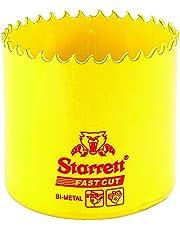 Starrett 63FCH070 Corona perforadora, Amarillo, 70 mm