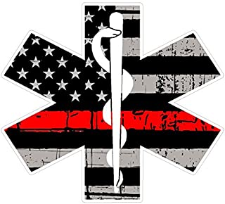 Fire Deparment Logo (T26) EMS USA 4