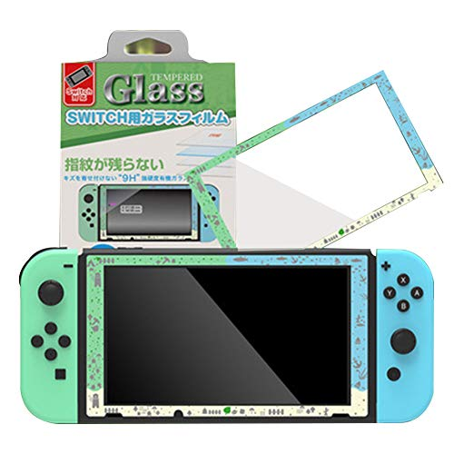 Protector de pantalla para interruptor de Nintendo Switch Tempered Glass Screen Saver Protector Film con transparente HD Clear Anti-Scratch