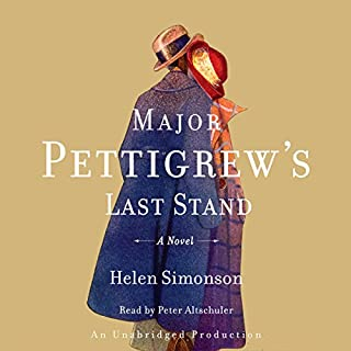 Major Pettigrew's Last Stand     A Novel              By:                                                                                                                                 Helen Simonson                               Narrated by:                                                                                                                                 Peter Altschuler                      Length: 13 hrs and 9 mins     3,672 ratings     Overall 4.3