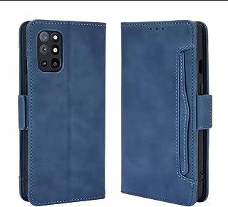 جراب حماية كامل متعدد الوظائف (وش وضهر وحامل لبطاقات)هاتف ون بلس 8 تى (one plus 8T) أزرق