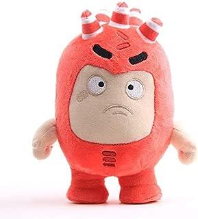 LFSLAS Oddbods Newt Buuble Pogo Zee Jeff Fuse Slick Plush Dolls Stuffed Toys for Kids 23Cm