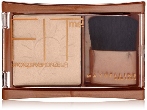Maybelline New York Fit Me! Bronzer, Light Bronze, 0.16 Ounce
