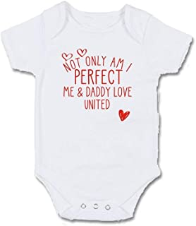 Born To Love Your Team Like Daddy Baby Vest New Football Club Name Gift Boys Son