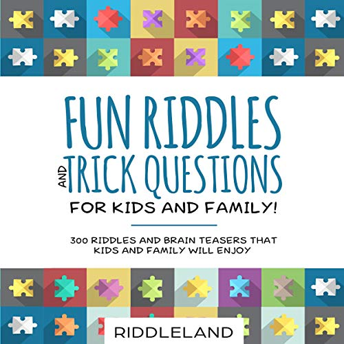 Fun Riddles & Trick Questions for Kids and Family! cover art
