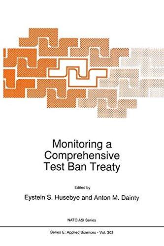 Monitoring a Comprehensive Test Ban Treaty (Nato Science Series E: (303), Band 303)